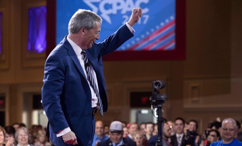 Nigel Farage, CPAC