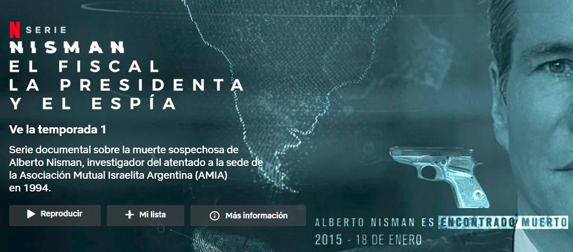 Netflix, serie sobre Alberto Nisman