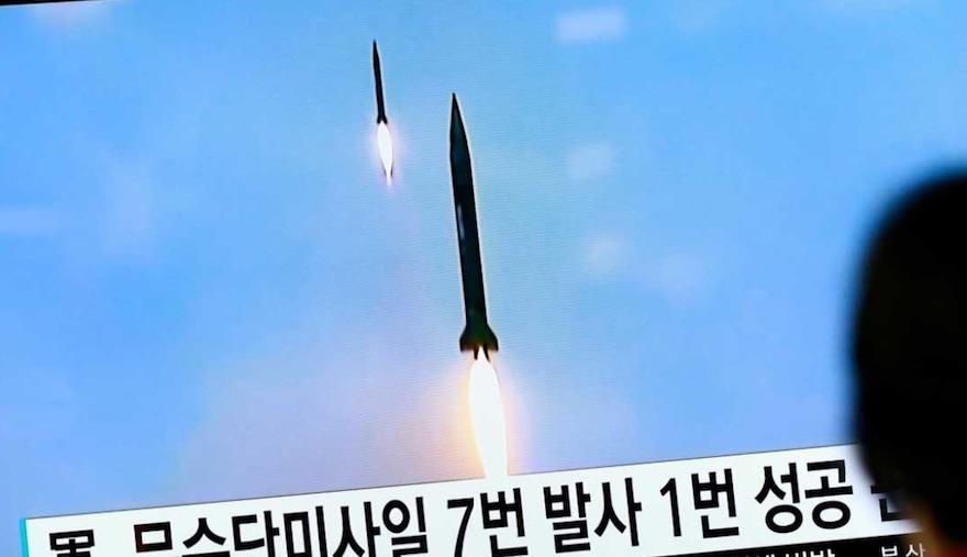 Prueba de misiles, Corea del Norte