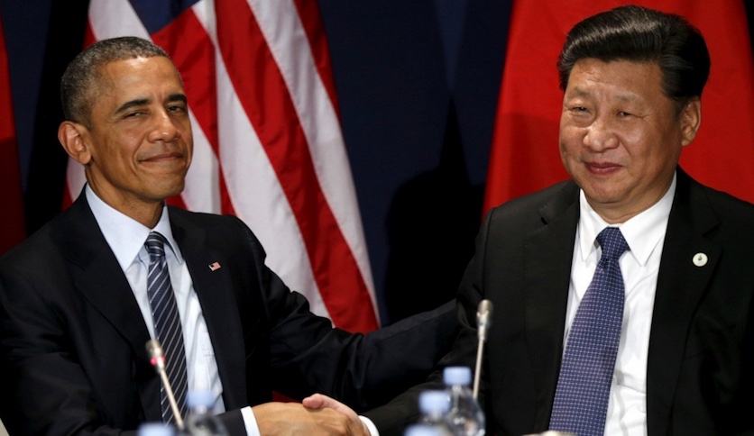 Obama y Xi