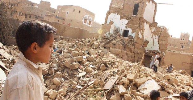 Arabia Saudita, bombardeo
