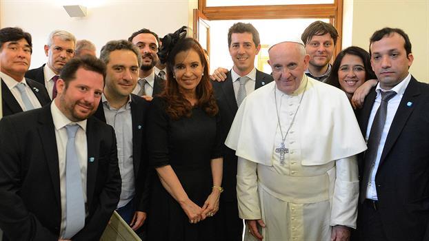 Papa Francisco y La Cámpora