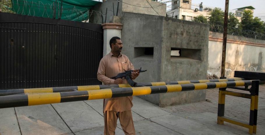 Ahmadi en guardia