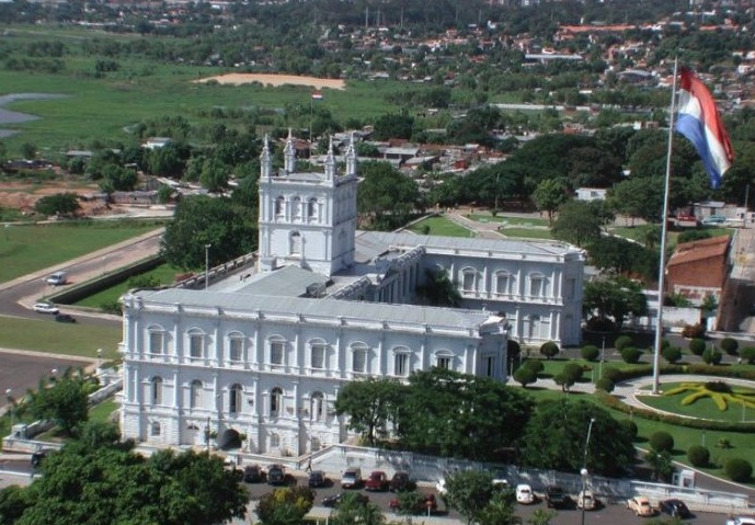 Asunción, Paraguay, Libertad económica, Casa de Gobierno