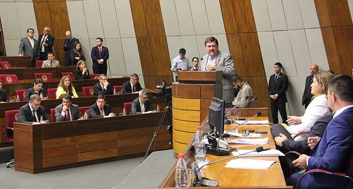Paraguay, Comisión bicameral, Gastos 2020, Congreso paraguayo