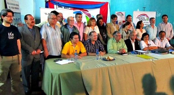 Frente Guasú, chavismo, izquierda latinoamericana, Fernando Lugo