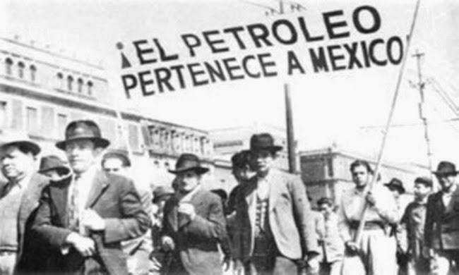 Petróleo mexicano, Protestas