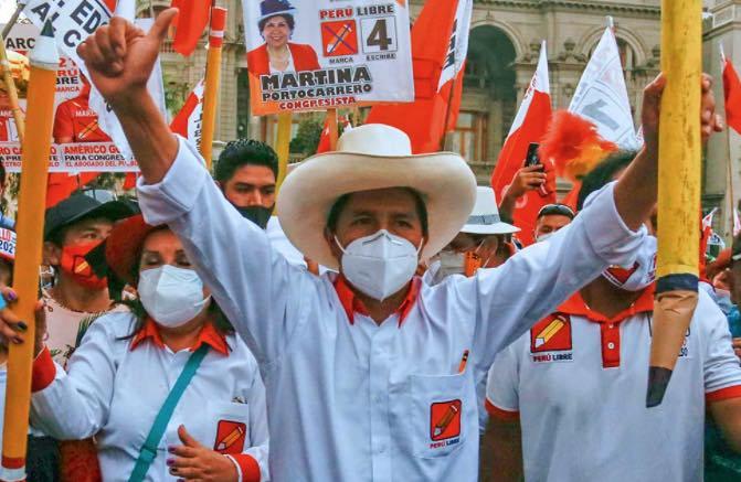 Pedro Castillo, Perú, Socialismo, Extrema izquierda