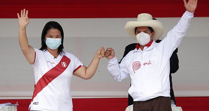 Perú, Keiko Fujimori, Pedro Castillo, Presidenciales, Elecciones