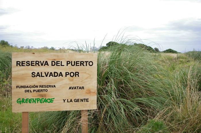 Greenpeace, reserva del Puerto de Mar del Plata