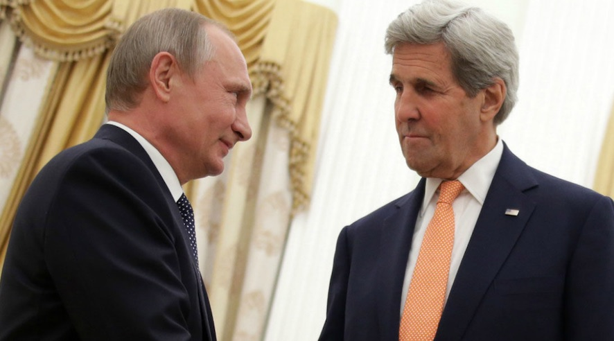 Putin y Kerry