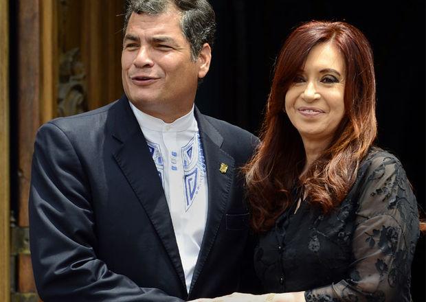 Rafael Correa, Cristina Kirchner
