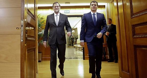 Rajoy, Ciudadanos, La Moncloa