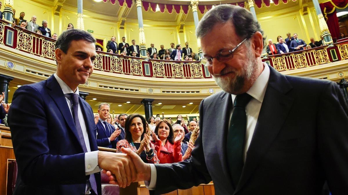 Moción de censura, Rajoy