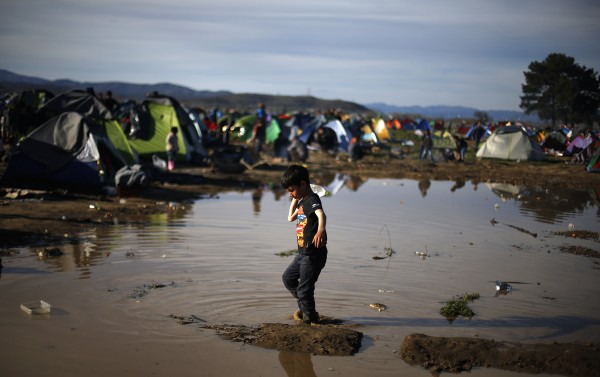 Refugiados, Idomeni