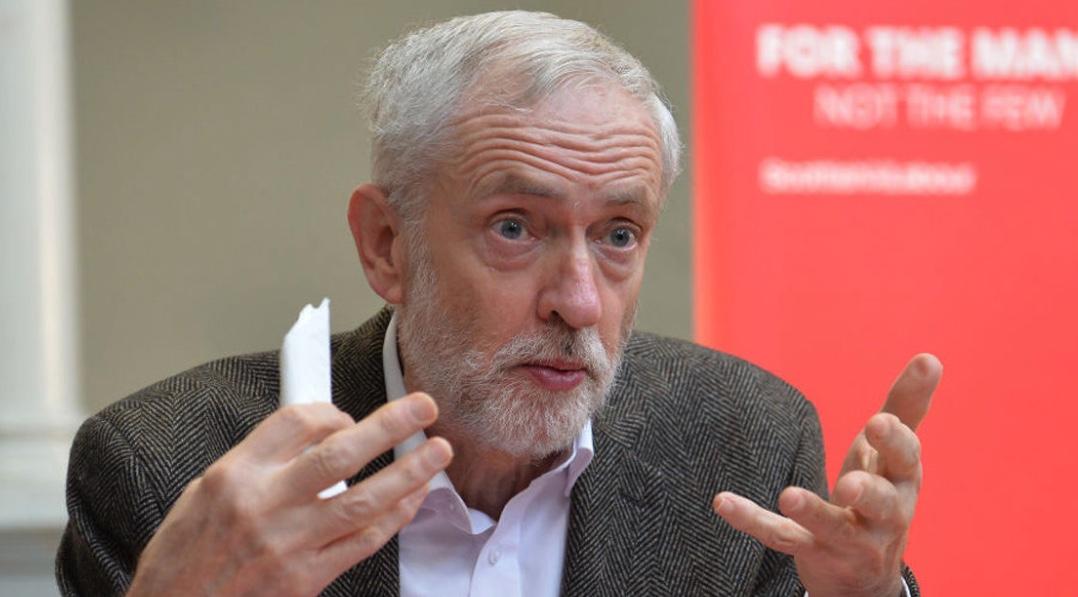 Jeremy Corbyn, Reino Unido