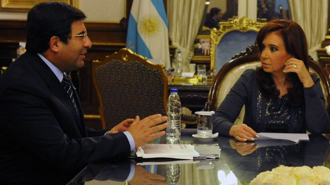 Echegaray, Cristina Kirchner