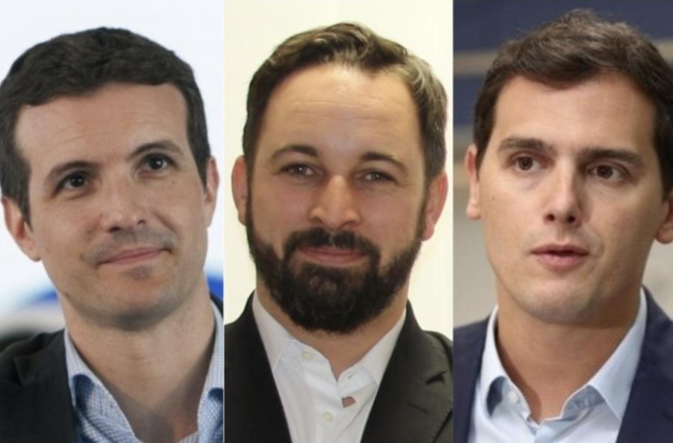 Política española, Abascal, Casado, Rivera