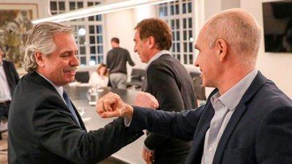 Rodríguez Larreta y Alberto Fernández, Socialdemocracia, Corrupción política