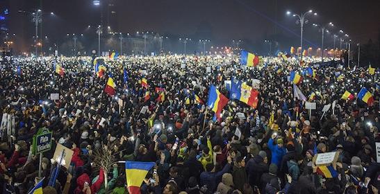 Rumanía, protestas