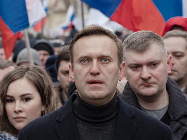 Alexei Navalny, Rusia, Envenenamiento