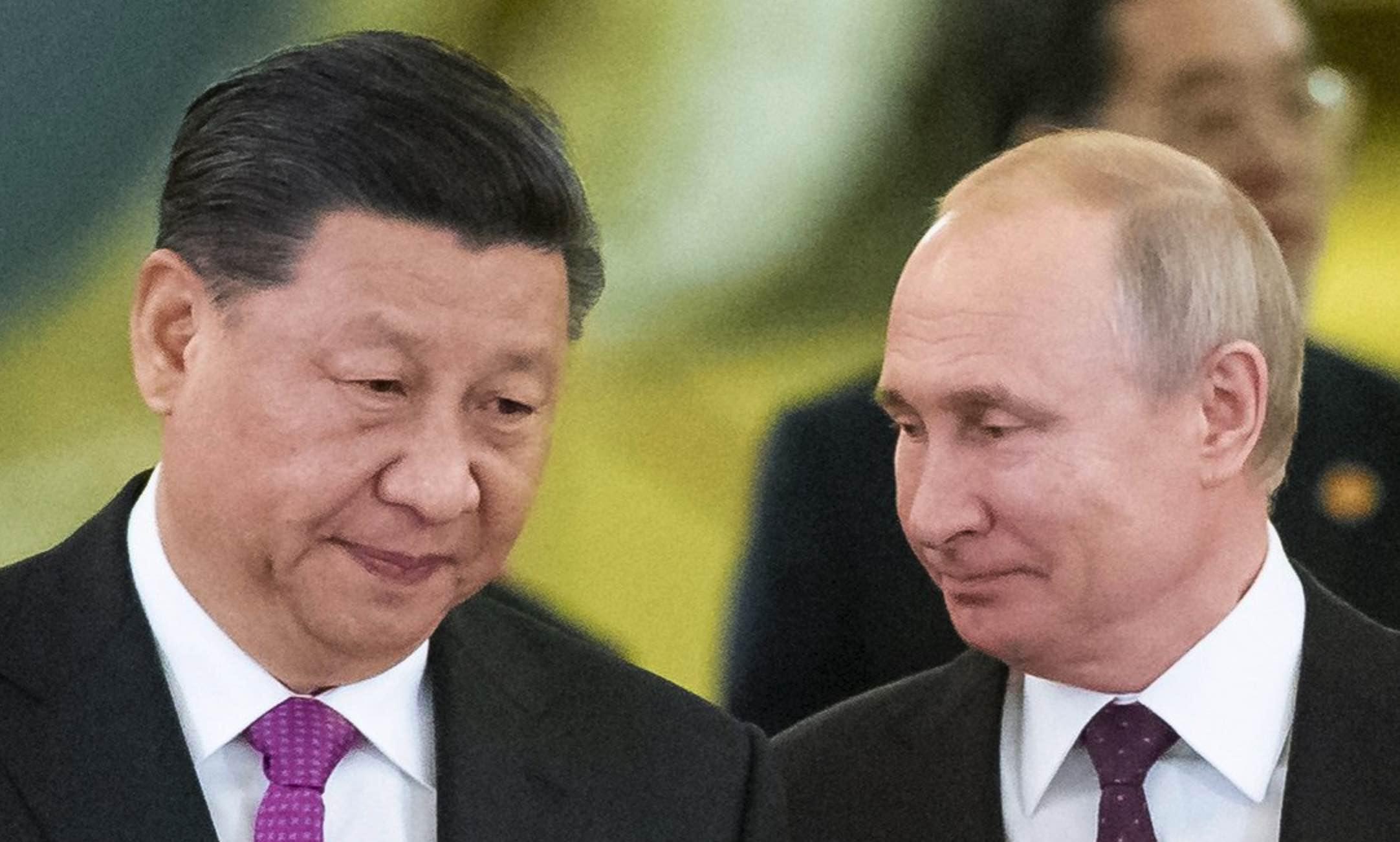 Xi Jinping, Vladimir Putin, Rusia y China versus Estados Unidos