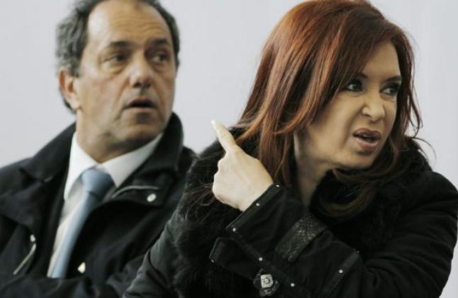 Scioli, CFK