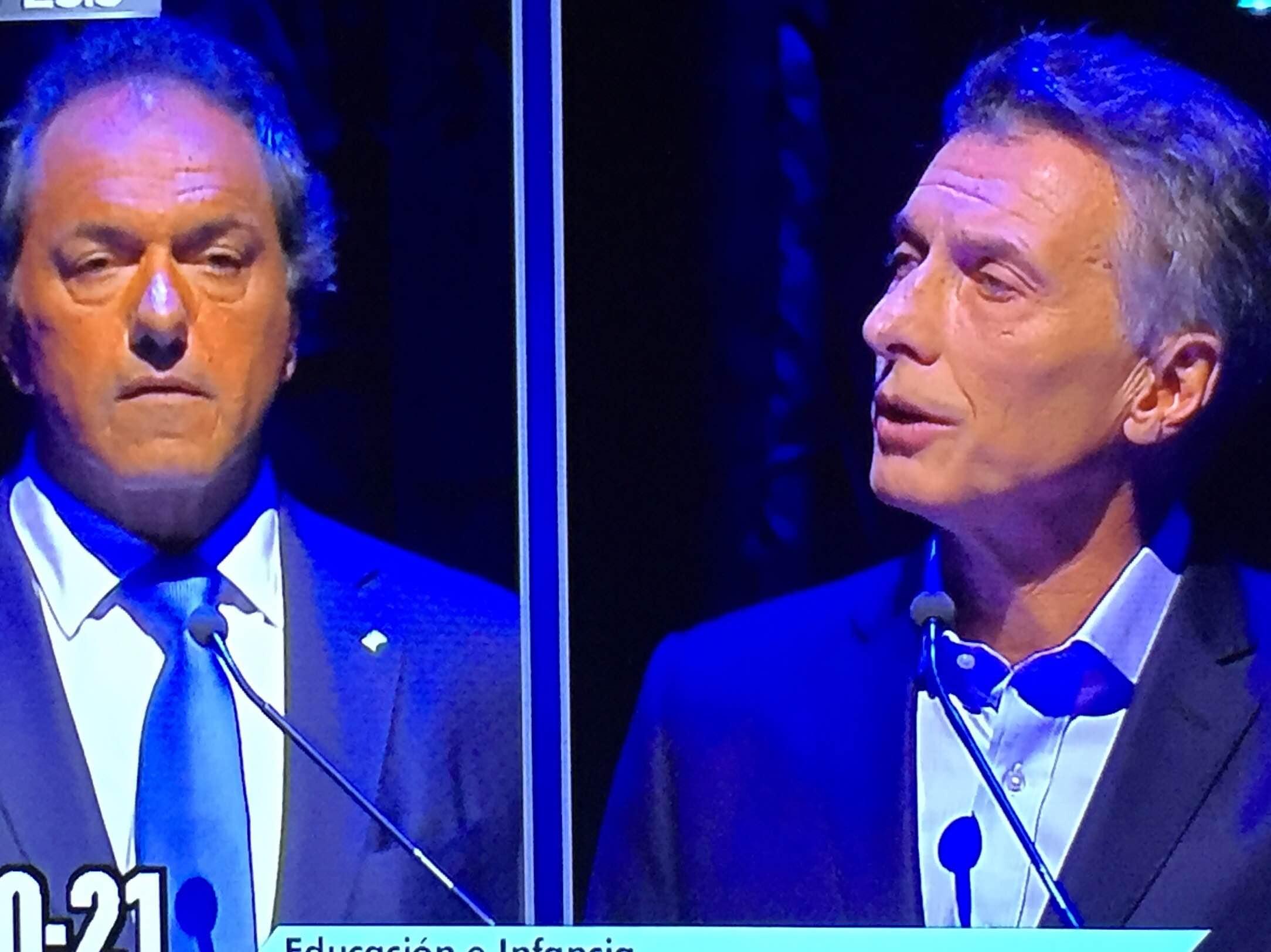 Scioli y Macri, Argentina Debate
