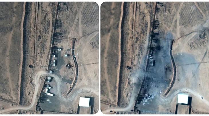 Ataque estadounidense en Siria