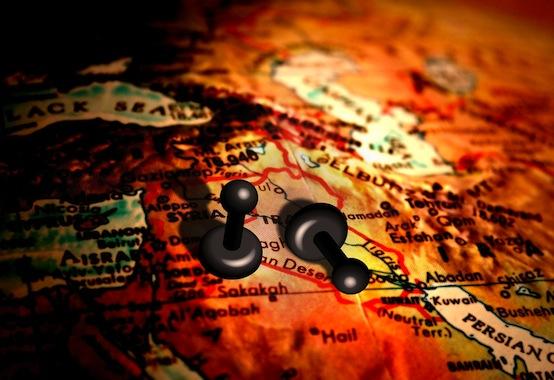 Siria, mapa