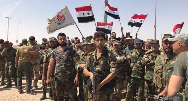 Rebeldes sirios contra al-Assad