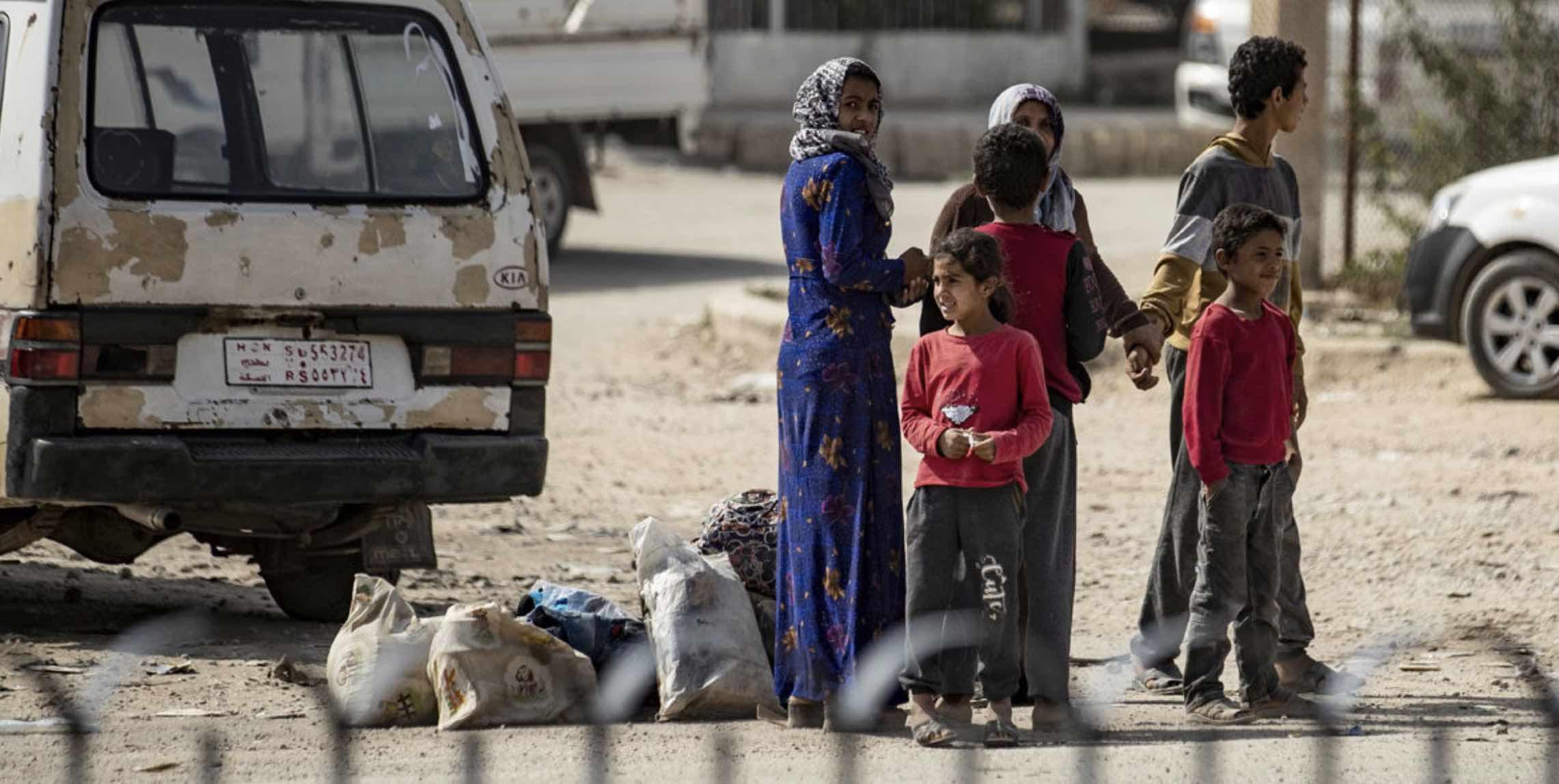 Sirios desplazados, Oriente Medio, Turquía, Kurdos