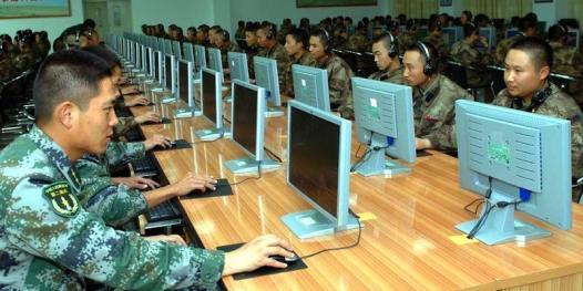 Resultado de imagen para China + ciberespionaje y guerra electrónica.