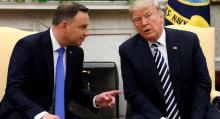 Andrzej Duda, Presidente de Polonia, Donald Trump, Visa Waiver Program, VWP, Exención de visado para ciudadanos polacos