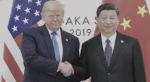 Donald Trump y Xi Jinping, G20 de Osaka Japón, Guerra comercial, Negociaciones entre Estados Unidos y China