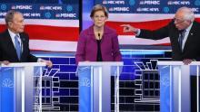 Debate Demócrata, Partido Demócrata, Bernie Sanders, Michael Bloomberg