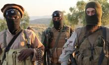 Elementos terroristas de ISIS