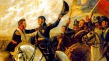 Abrazo de Maipú, Batalla de Maipú