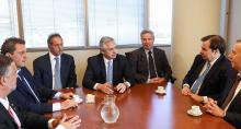 Alberto Fernández y equipo, Populismo, Felipe Solá, Sergio Massa, Daniel Scioli, Plan económico, Confiscación