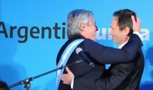 Alberto Fernández y Gustavo Béliz, BID, Banco Interamericano de Desarrollo