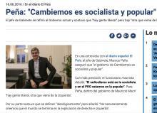 Cambiemos es socialista y popular; Marcos Peña