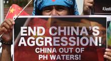 Agresión china contra Filipinas, Mar del Sur de China