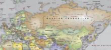 Eurasia, Geopolítica, Mapa de Eurasia