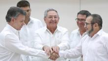 Colombia, La Habana, Cuba., FARC, Acuerdos de Paz, JEP, Premio Nobel para Santos, Narcoterrorismo