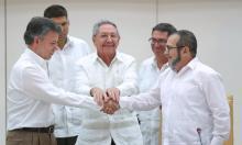 Juan Manuel Santos, Raúl Castro, FARC, Narcotráfico, Terrorismo internacional