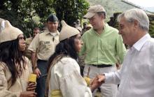 Juan Manuel Santos, Colombia, Sierra Nevada de Santa Marta, Mamos, Sebastián Piñera