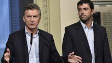 Mauricio Macri y Basavilbaso