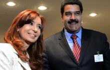 Nicolás Maduro, Cristina Kirchner