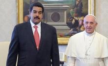 Papa Francisco, Nicolás Maduro, Corrupción, Propiedad privada, Comunismo, Iglesia Católica, Vaticano, IOR