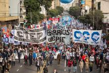 Piqueteros, Violencia, Delito, Buenos Aires, CCC, Izquierda, Extrema izquierda